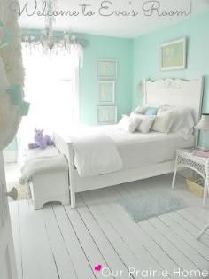 Girls Room / INSPIRATION: Girls Bedroom - CotCozy