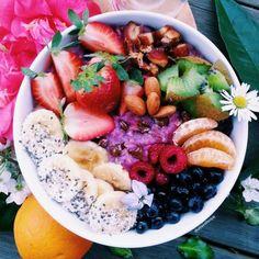 Healthy food is so beautiful <3