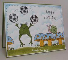 FS350 Soccer Frog Birthday - by angelladcrockett
