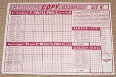 61 Best Football Pools & Coupons images in 2017   Coupon