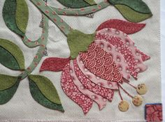 Esther's Blog: Flowers For Me.. How to applique tutorial...professional