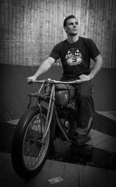 Ted Dwane: Demon Drome Wall of Death « The Leica Camera | vintage Indian motorcycle