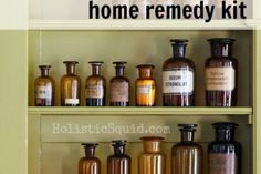 How to Stock Your Holistic Home Remedy Kit - Holistic Squid