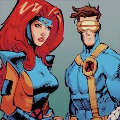 Marvel Girls, Marvel Heroes, Cyclops X Men, Marvel Characters, Fictional Characters, Dark Phoenix, Fun Comics, Jean Grey, Marvel Universe