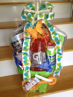 Summer's Coming Gift Basket