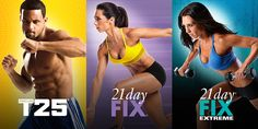 if you purchased DVDs for FOCUS T25, 21 Day Fix or 21 Day Fix EXTREME, those programs will now be available to stream in your Beachbody on Demand Library!
