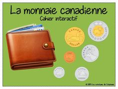 Les créations de Stéphanie: La monnaie canadienne - Cahier interactif Maths 3e, 1st Grade Math, Grade 2, Core French, Daily Math, Free In French, French Language Learning, Basic Math, Guided Math