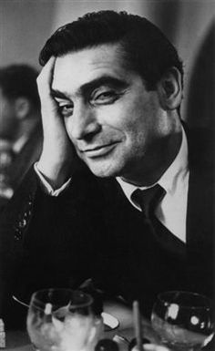 Robert Capa (1913-1954), the legendary war photographer and founder of modern photojournalism