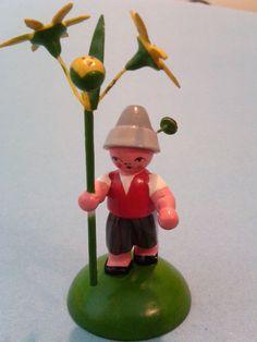 Vintage Erzgebirge German Flowerchild Boy by YesterdaysPleasures