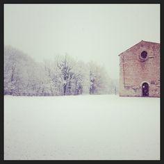 Neve sui monti sibillini nelle marche Snow in le Marche, Sibillini mountains