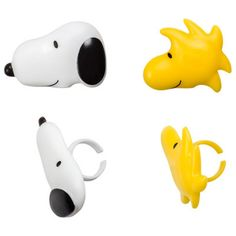 Peanuts Snoopy & Woodstock Rings