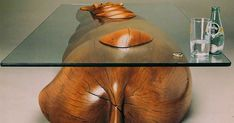 Clever Tables That Create An Illusion Animals Are Emerging From Water | Bored Panda