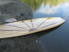Cedar Strip  Stand UP Paddle Board  SUP by Pkwoodcraft on Etsy, $900.00