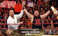 The Wrestling World Reacts To Kevin Owens Winning The WWE Universal Championship