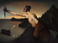 Nerdrum, Odd (1944- ) - 1988-90 Contra Natura (Private Collection) by RasMarley, via Flickr