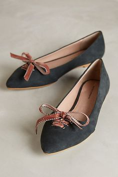 Pilcro Frenchie Flats #anthrofave