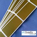 gold rectangle scratch off label