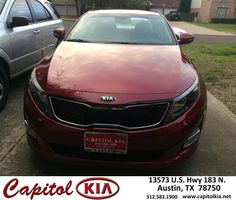 https://flic.kr/p/AK39qg | Congratulations Richard on your #Kia #Optima from Christian Lundell at Capitol Kia! | deliverymaxx.com/DealerReviews.aspx?DealerCode=RXQC