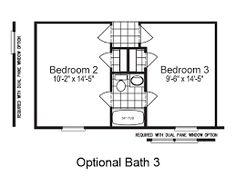 Small Jack And Jill Bathroom Remodel jack and jill bathroom floor plan with a separate area for both