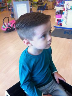 little boys haircut ~ Undercut ~ KidSnips.com