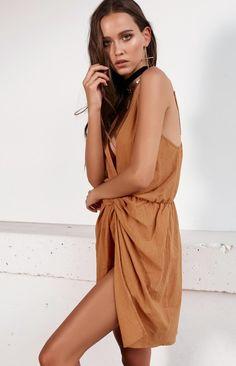 Paloma Dress Rust