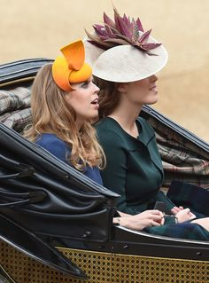 British Royals at Trooping The Colour 2016 ceremony