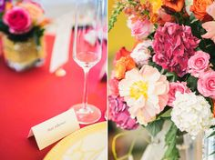 Ken & Elaine | A Fuchsia & Gold Keswick Vineyards, Wedding Rentals--MS Events/Stephanie Messick Photography