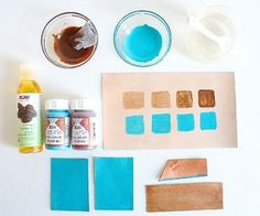 How To Dye Leather Tutorial