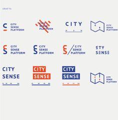 City Sense Platform on Behance by Irene Shkarovska City Branding, Museum Branding, Logo Branding, Graphisches Design, Design Logo, Symbol Design, Branding Design, Quote Design, Design Layouts