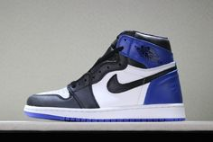 premium selection 93329 ee772 Fragment Design x Air Jordan 1 Retro High OG White Sport Royal-Black  716371-040. Jordan 1Nike ...