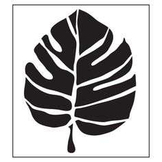 FolkArt Large Leaf Painting Stencils-30603 at The Home Depot