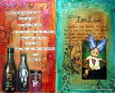 Image result for art journal pages