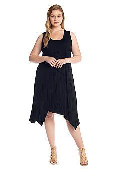 Karen Kane Plus Size French Blue Carolyn Maxi Dress Karen Kane