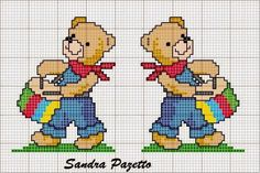 "Charts Cross Stitch ""Teddy Bears"""