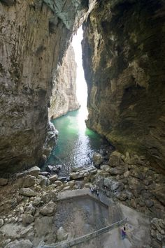 So breath taking  (LT) ::: Montagna Spaccata Legend has it that pirates hid in this nook.
