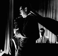 Paul Desmond and Dave Brubeck • Photographed by Bob Willoughby