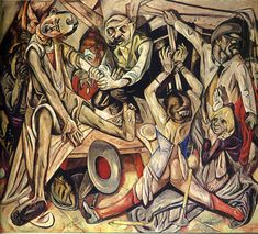 Max Beckmann - Night, 1918.  Professional Artist is the foremost business magazine for visual artists. Visit ProfessionalArtistMag.com.- www.professionalartistmag.com.