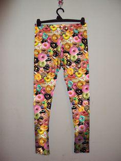 J Dilla loves Donuts Digtal Print Leggings by eatmeclothing on Etsy, $59.50