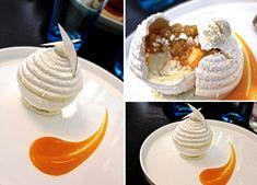 Vacherin Mini Cakes, Cup Cakes, Gastro, Pina Colada, Plated Desserts, Cupcake Cookies, Food Presentation, Meringue, Just Desserts
