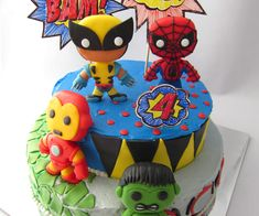 Fondant Marvel Superheroes