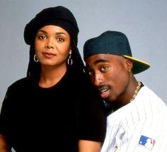 Viva La Tupac. #2pac #Janet Jackson #poetic justice