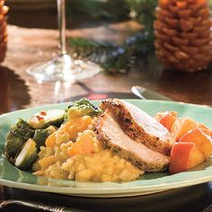 Pork Loin Roast With Carolina Apple Compote - Best Apple Recipes - Southern Living