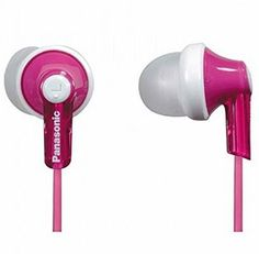 a82b26c0b4a103 Panasonic ErgoFit In-Ear Earbud Headphones (Pink) Dynamic Crystal Clear  Sound, Ergonomic Comfort-Fit