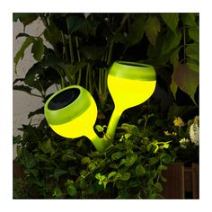SOLVINDEN LED solar-powered ground stake IKEA Easy to use because no cords or plugs are needed.