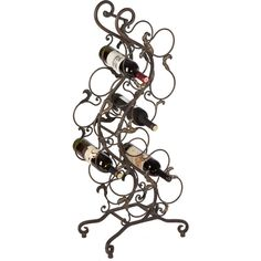Scroll Wine Rack - does this wine rack fit your decor?