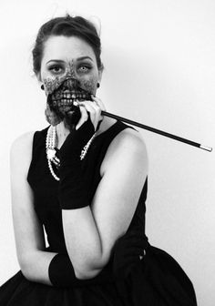 My zombie Audrey Hepburn costume. It won best costume at a macabre ball. - Imgur so legit