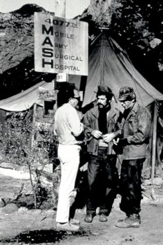 Vintage Malibu: 'M*A*S*H'. Malibu resident Robert Altman (left) filmed 1970's M*A*S*H movie with Elliott Gould (center) and Donald Sutherland at Malibu Creek State Park. The TV series also shot there.