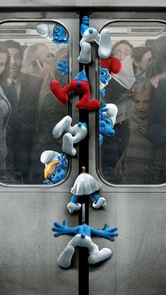 "Wallpaper for ""The Smurfs"" Funny Phone Wallpaper, Cute Disney Wallpaper, Wallpaper Backgrounds, Cartoon Crossovers, Cartoon Movies, Cartoon Art, Movie Wallpapers, Cute Cartoon Wallpapers, Disney Animation"