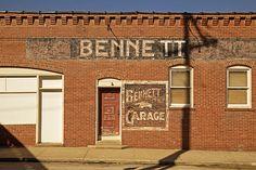 BENNETT GARAGE ~ Excelsior Springs, Missouri ~ Copyright ©2013 Bob Travaglione - All Rights Reserved ~ www.FoToEdge.com