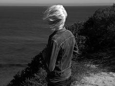 Gryphon O'Shea for Saint Laurent by Hedi Slimane's 'Skinny Lookbook'.